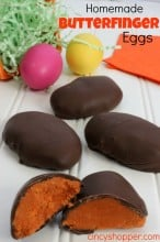Homemade Butterfinger Egg Recipe