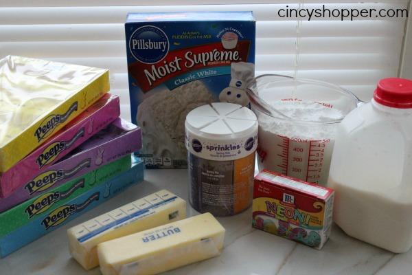 PEEPS Cupcakes Recipe 2