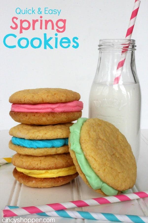 Spring Cake Cookies Recipe