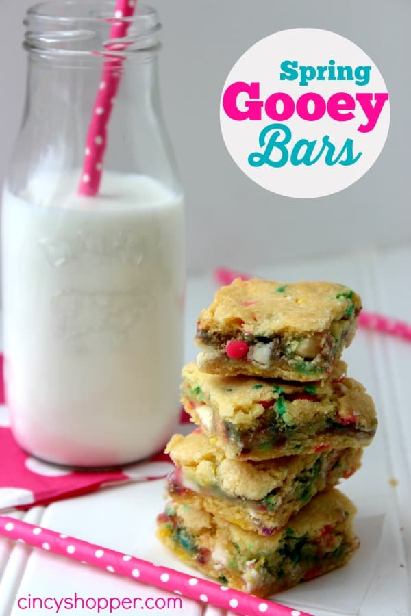 Spring Gooey Bars Recipe