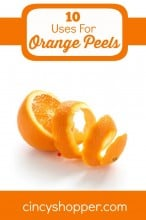 10 Uses for Orange Peels