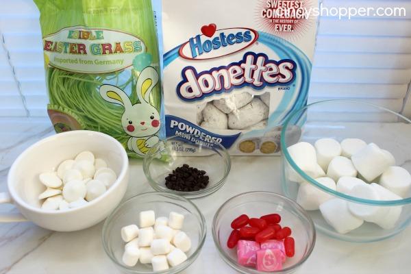 Bunny Mini Donut Treat for Easter 2