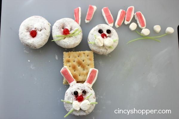 Bunny Mini Donut Treat for Easter 4