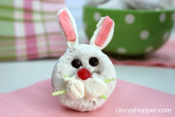 Bunny Mini Donut Treat for Easter 5