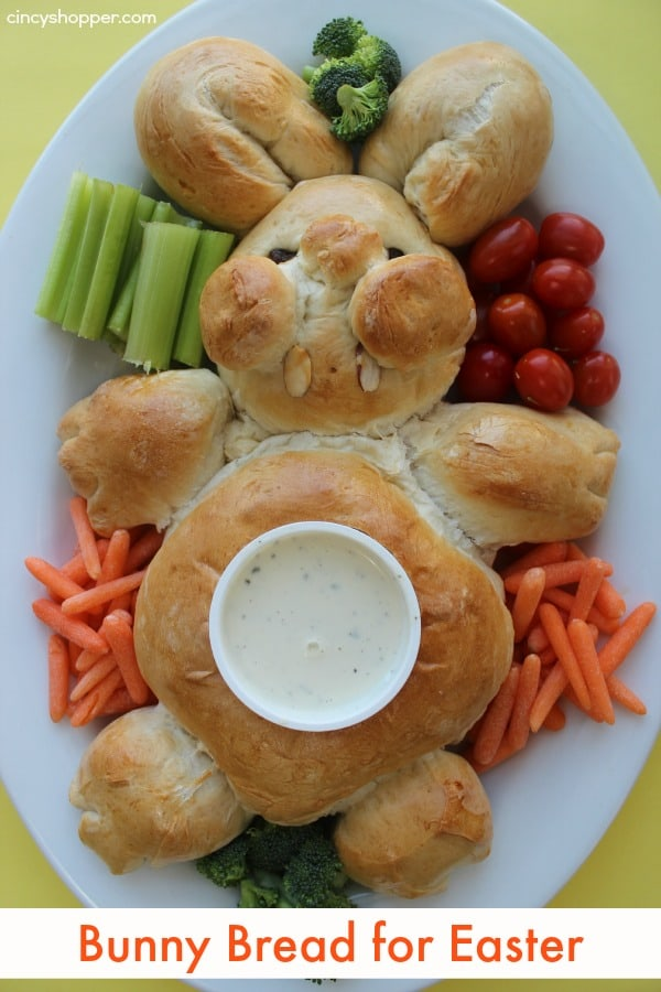 Bunny Bread for Easter
