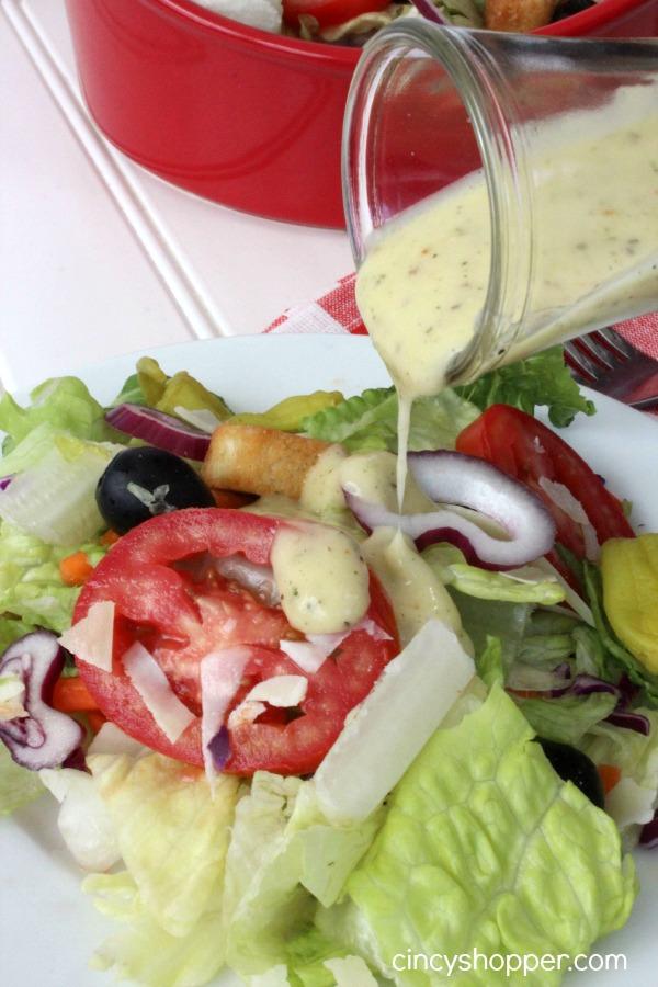copycat olive garden salad dressing recipe - How To Make Olive Garden Salad
