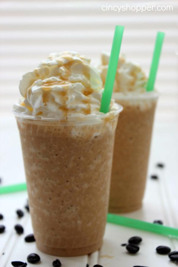 CopyCat Starbucks Caramel Frappuccino Recipe 3