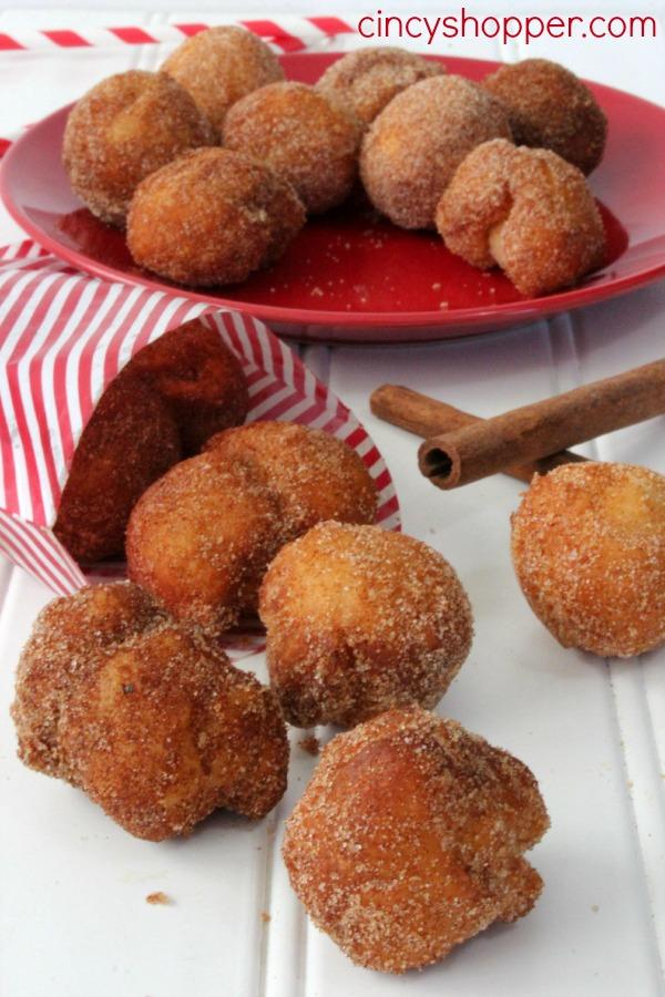 Easy Cinnamon Sugar Donut Bites Recipe