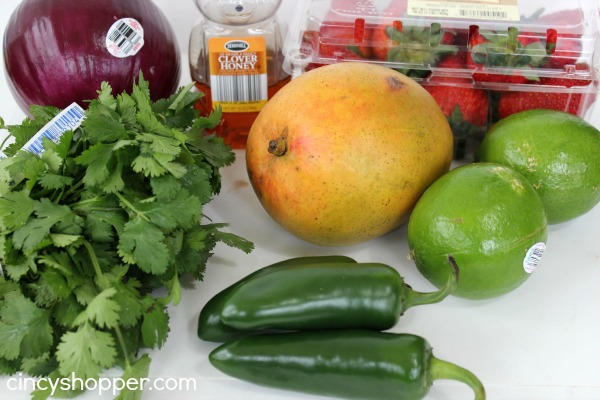 Fresh Strawberry Mango Salsa 3
