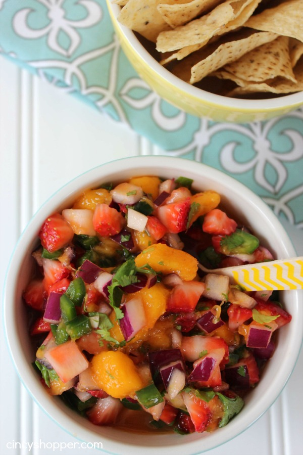 Fresh Strawberry Mango Salsa Recipe 2