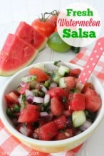 Fresh Watermelon Salsa Recipe
