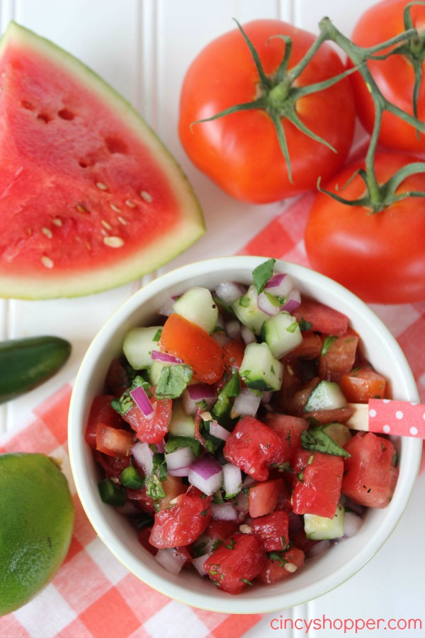 Fresh Watermelon Salsa Recipe 3