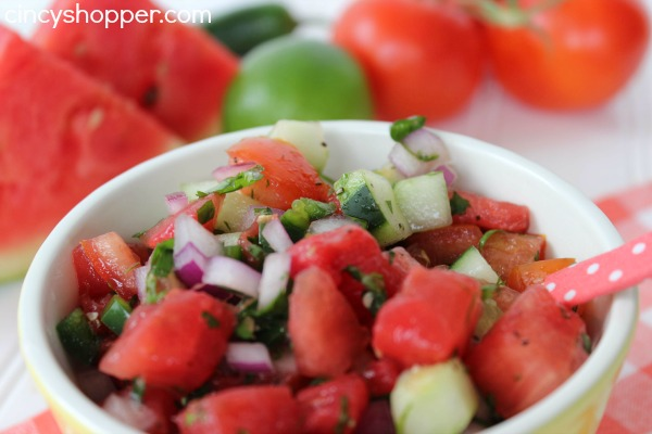 Fresh Watermelon Salsa Recipe 7