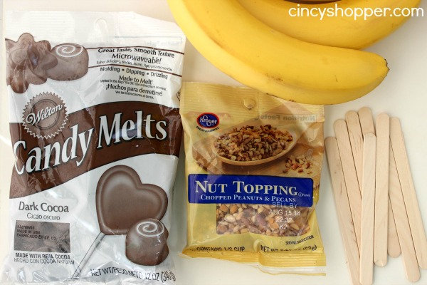 Frozen Chocolate Dipped Banana Recipe
