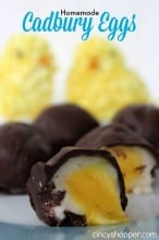 Homemade Cadbury Eggs Recipe