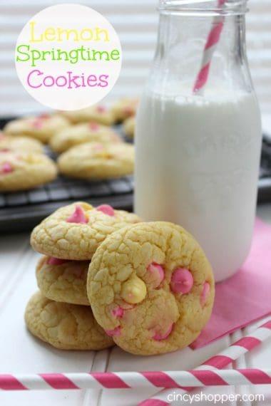 Lemon Springtime Cookie Recipe
