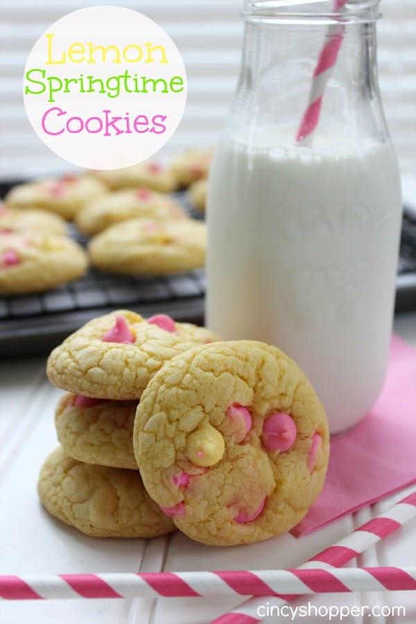 Lemon Springtime Cookies Recipe