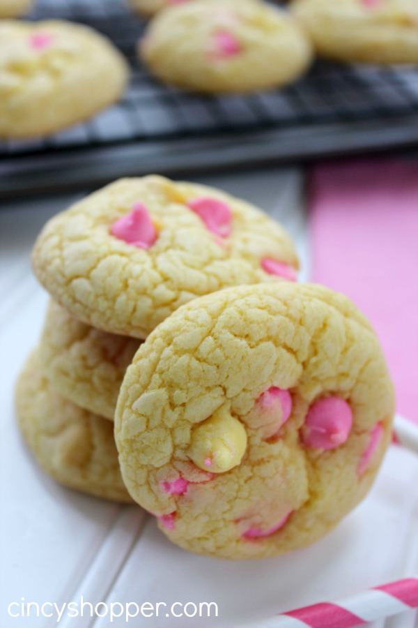 Lemon Springtime Cookies