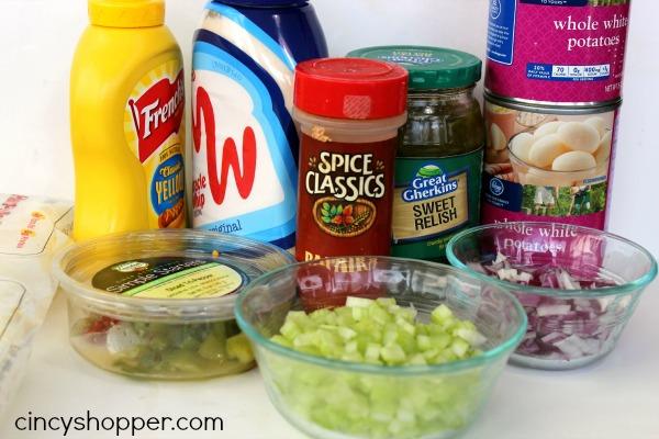 Quick and Easy No Cook Potato Salad Recipe 3