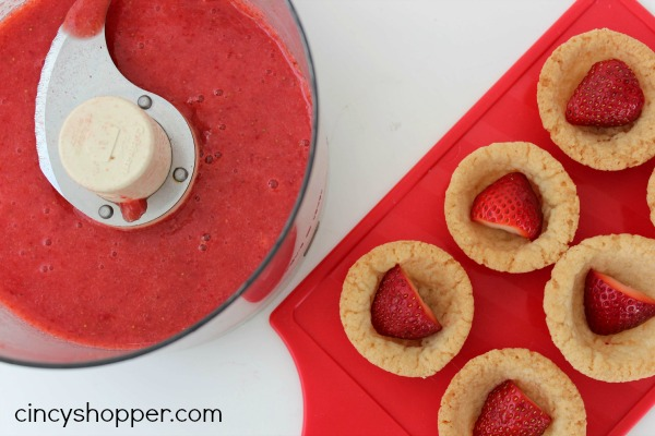 Strawberry Shortcake Cookie Cups 6