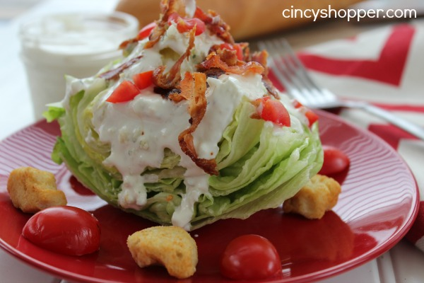 Wedge Salad with Homemade Blue Cheese Dressing Recipe 6