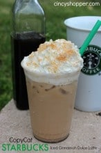 CopyCat Starbucks Iced Cinnamon Dolce Latte Recipe