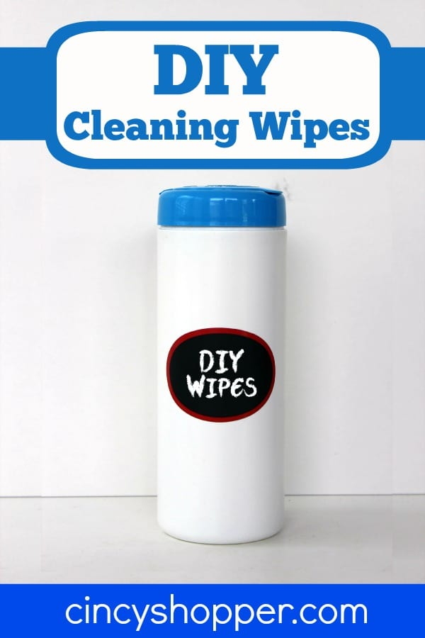 DIY Cleaning Wipes Recipe