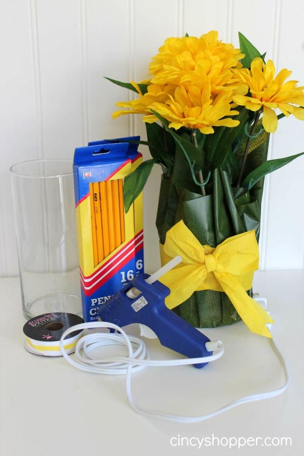 Diy Teacher Gift Pencil Vase Cincyshopper
