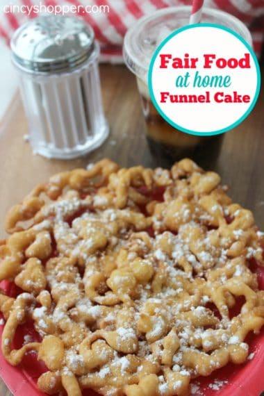 Fair Food at Home Week: Funnel Cake Recipe