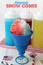 Fair Food at Home Week: Homemade Snow Cones Recipe