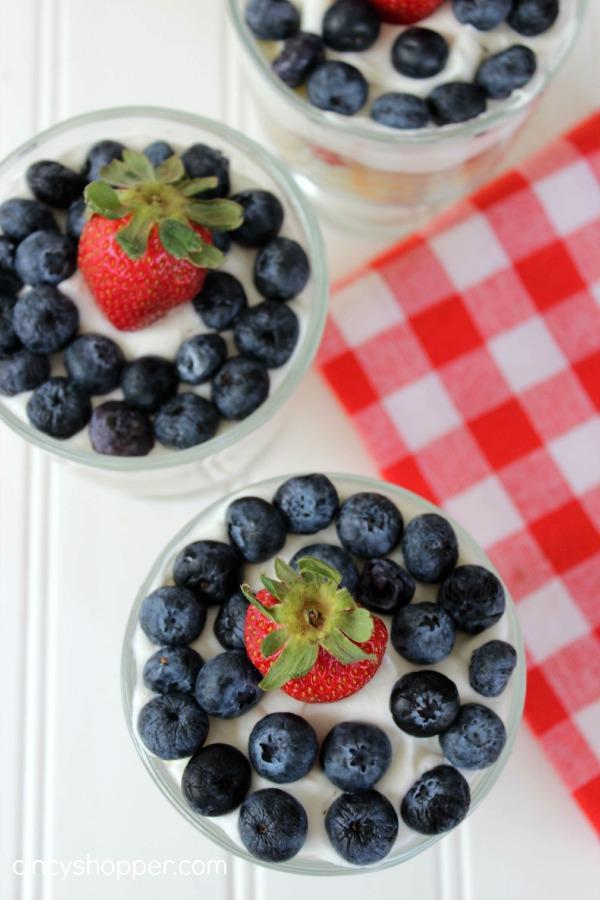 Patriotic Trifles Recipe