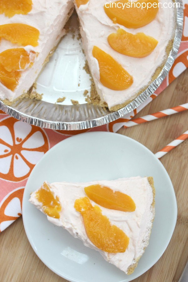 Peach Yogurt Pie Recipe