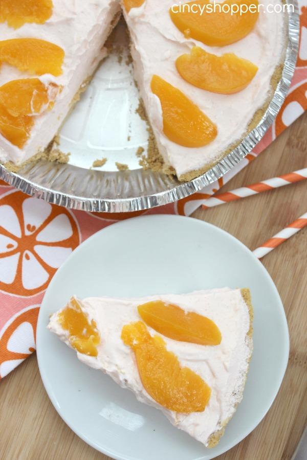 Peach Yogurt Pie Recipe