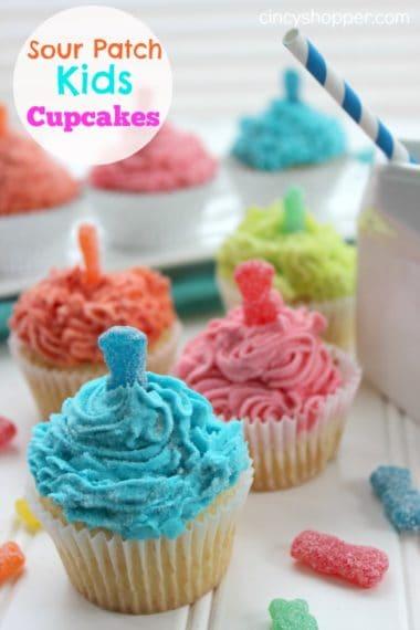 Sour Patch Kids Cupcakes Recipe