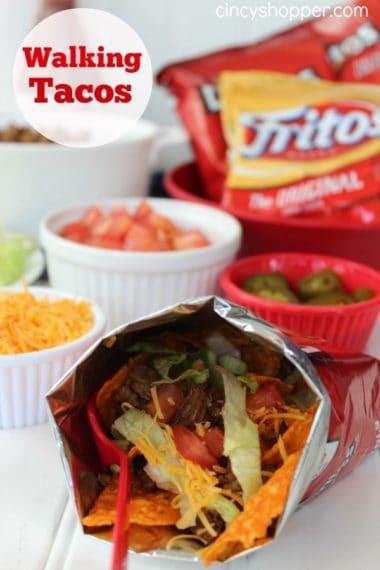 Fair Food at Home Week: Walking Tacos Recipe