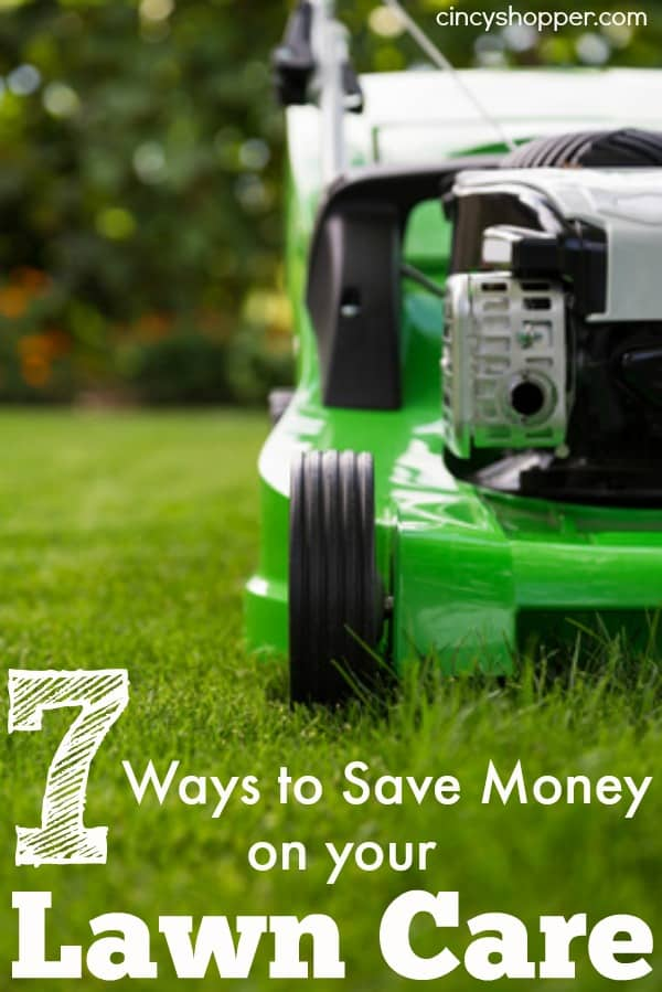 7 Ways to Save Money on Lawn Care