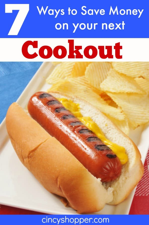 7 Ways to Save Money on Your Next Cookout