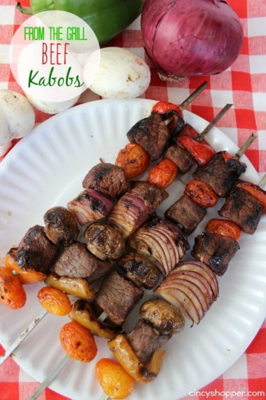 From the Grill: Beef Kabobs Recipe