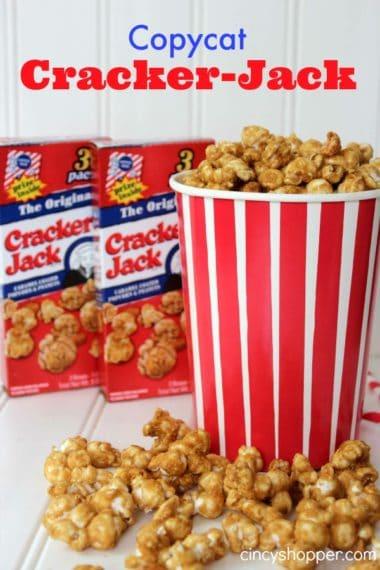 Copycat Cracker Jack Recipe