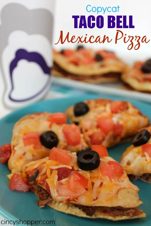 Copycat Taco Bell Mexican Pizza Recipe