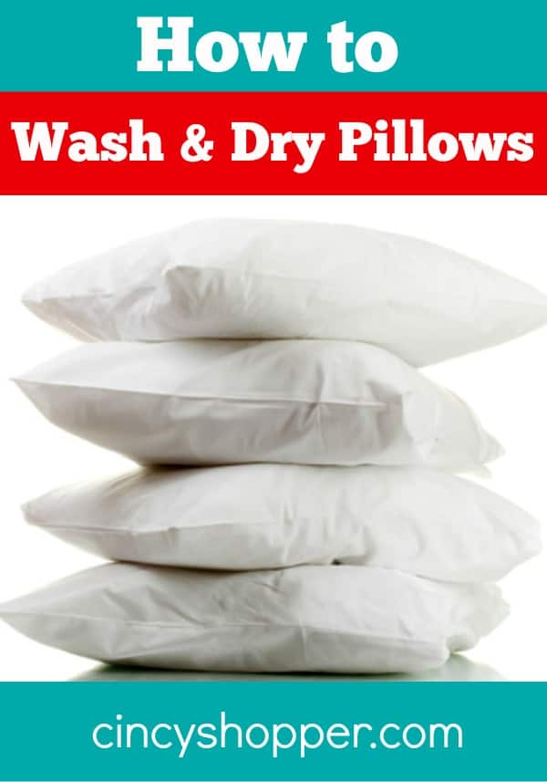 Washing Throw Pillows At Home : How to Wash and Dry Pillows - CincyShopper