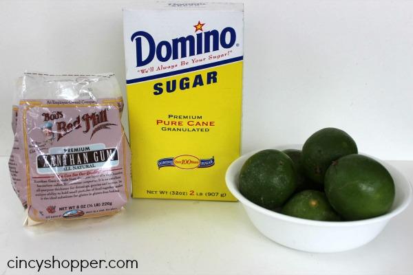 Lime Sorbet Recipe