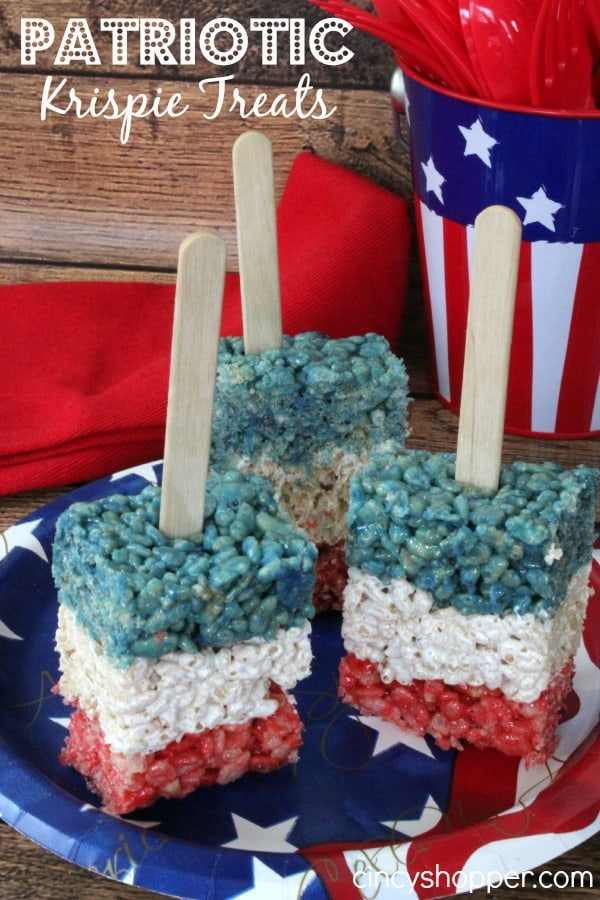 Patriotic Krispie Treats Recipe