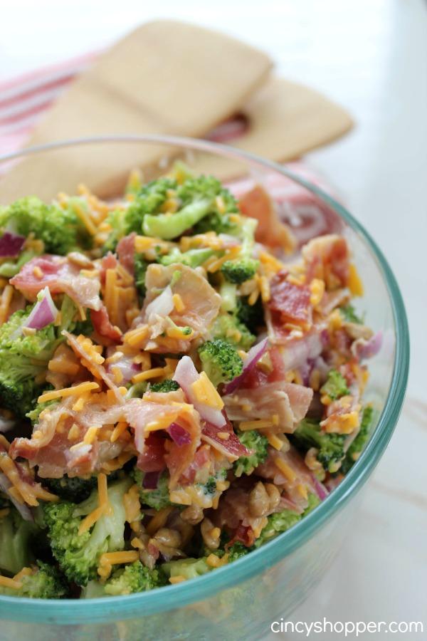 Quick and Easy Broccoli Salad Recipe 1