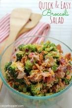 Quick & Easy Broccoli Salad Recipe