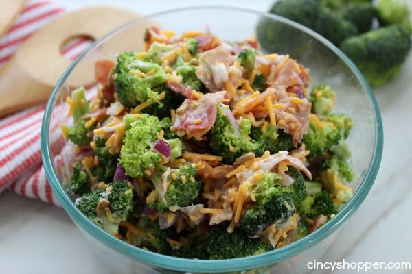 Quick & Easy Broccoli Salad Recipe - CincyShopper