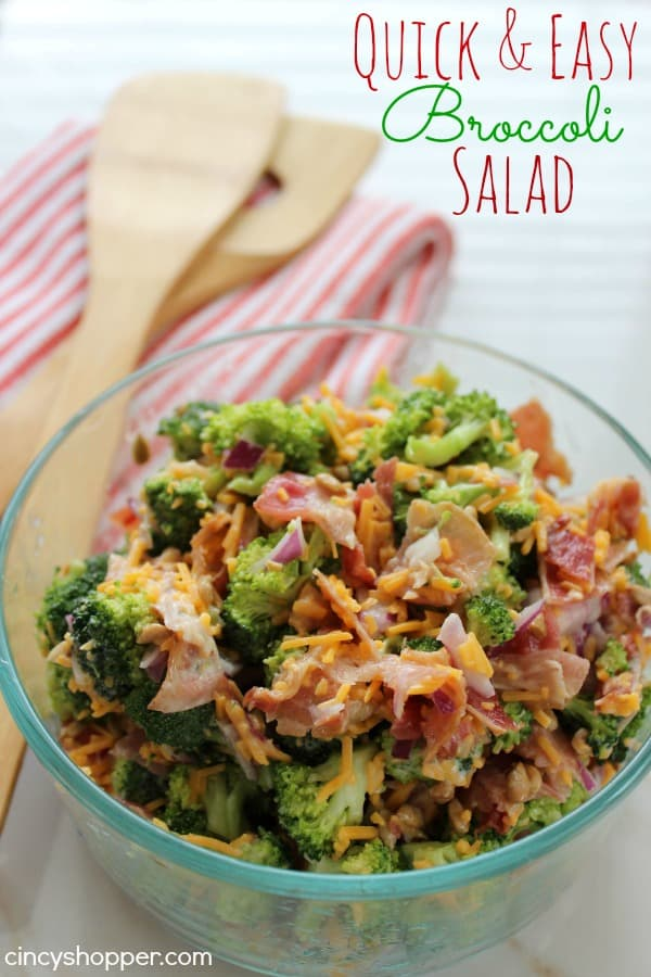 Quick and Easy Broccoli Salad Recipe