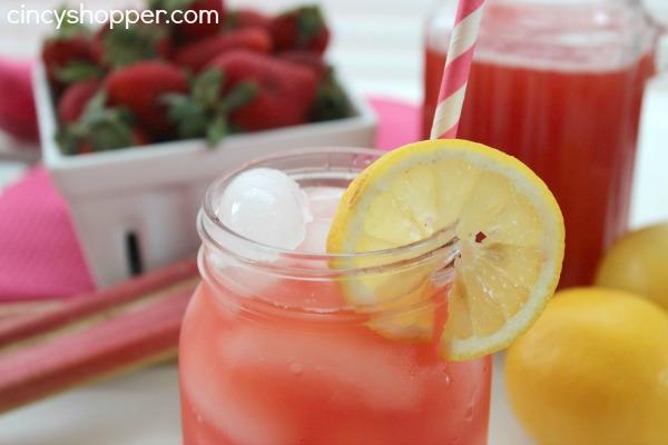 Strawberry Rhubarb Lemonade Recipe 2