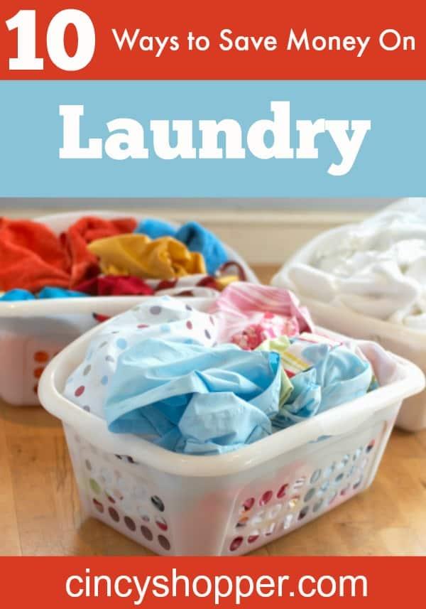 Ways to Save Money on Laundry