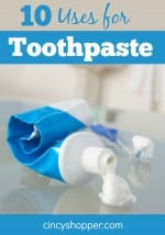10 Uses for Toothpaste